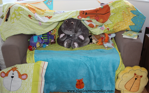 Making Blanket Forts Play And Learn Every Day