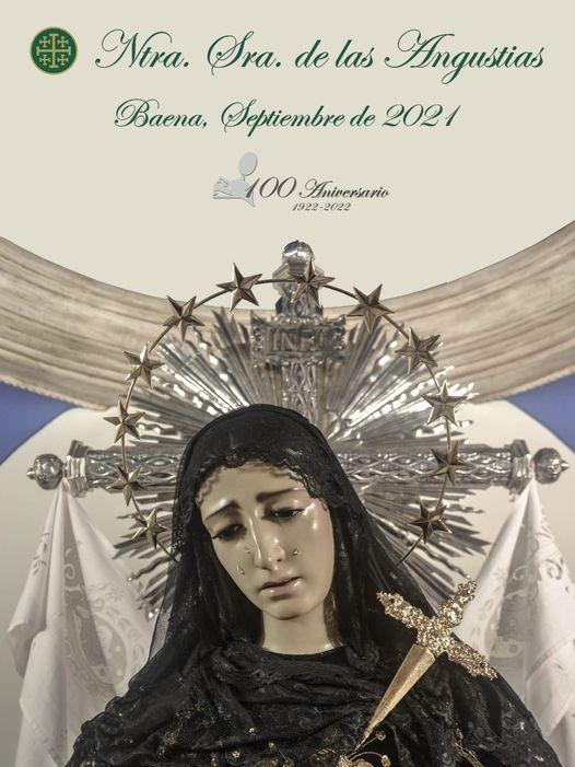 Cartel Nuestra Señora de las Angustias de Baena, Septiembre del 2021