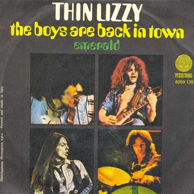 Thin Lizzy - Boys are Back cover