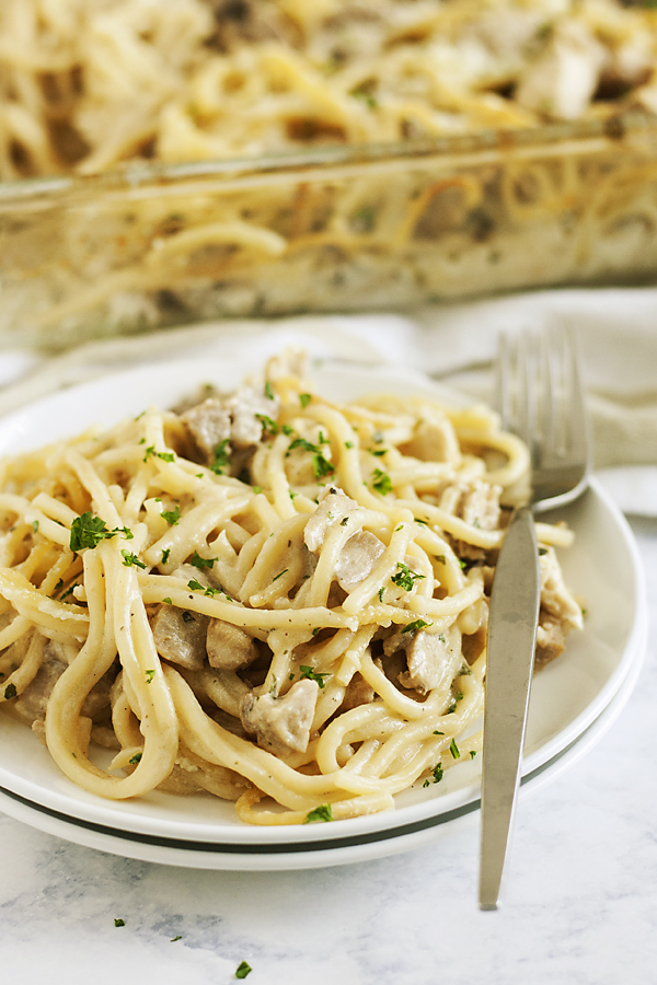 Turkey Tetrazzini from The Life Jolie