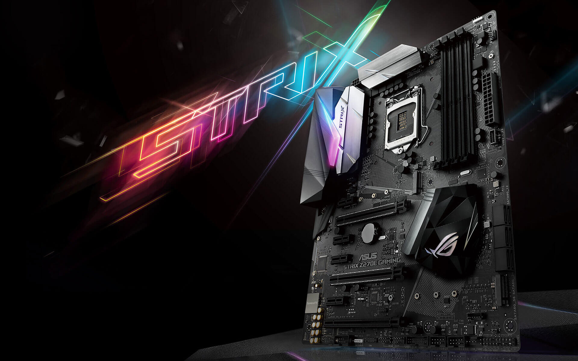 370 Wallpapers Para Iphone: Placa Mãe ASUS ROG STRIX Z270E Motherboard