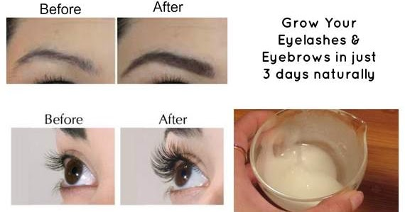 how to get thick eyebrows and eyelashes