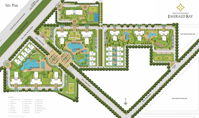 Master Plan - Puri Emerald Bay