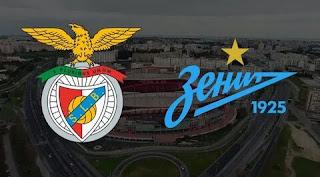 Зенит - Бенфика смотреть онлайн бесплатно 10 декабря 2019 прямая трансляция в 23:00 МСК.