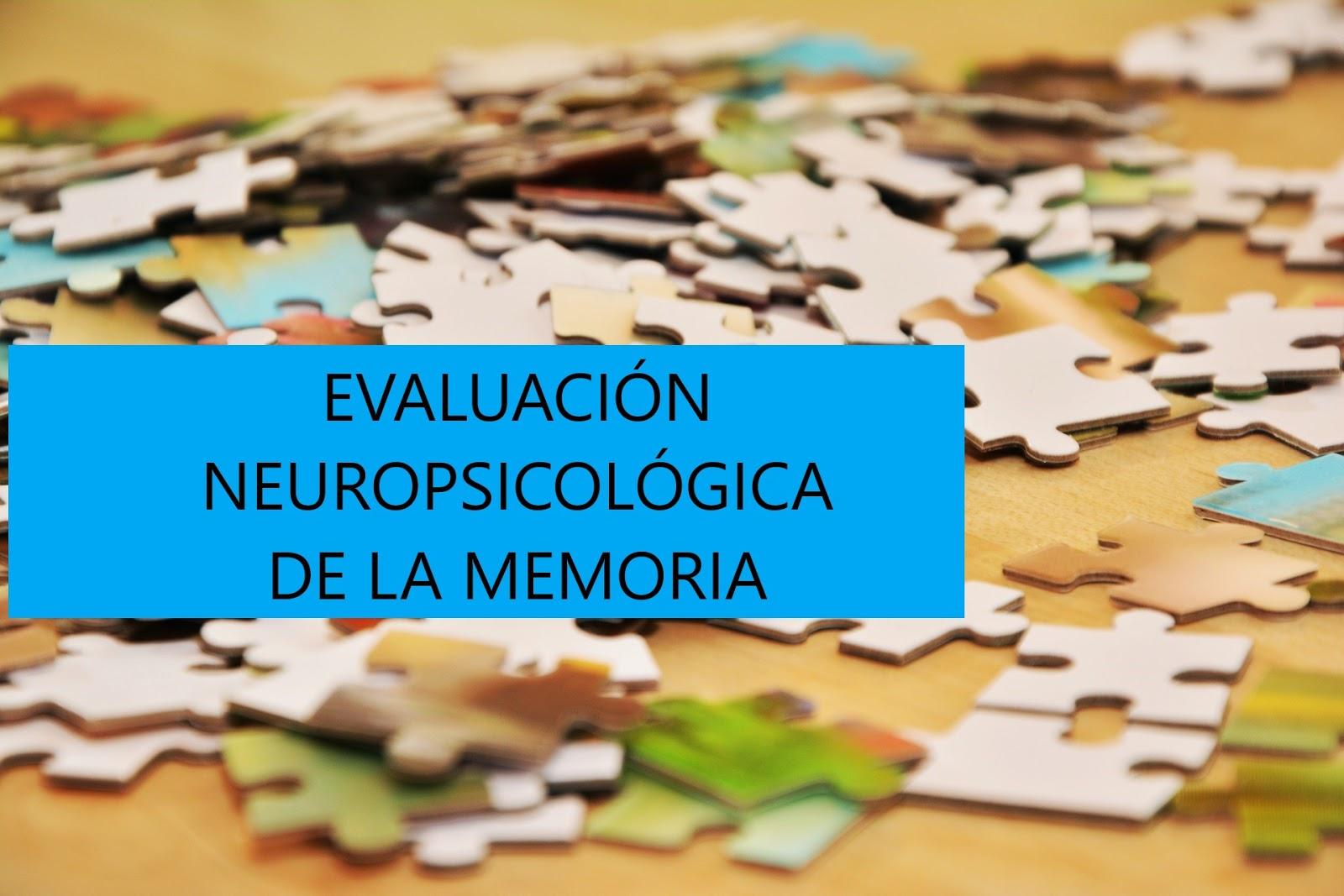 Manual de evaluación Neuropsicológica de la memoria. PDF