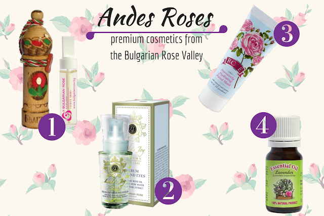 Andes Roses - Premium Cosmetics from the Rose Valley
