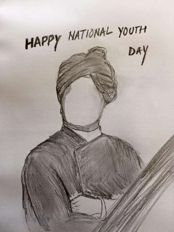 National Youth Day Wishes Unique Image
