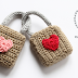 Crocheted lovelocks