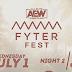 SPOILERS: Segunda noite do AEW Fyter Fest é vazada