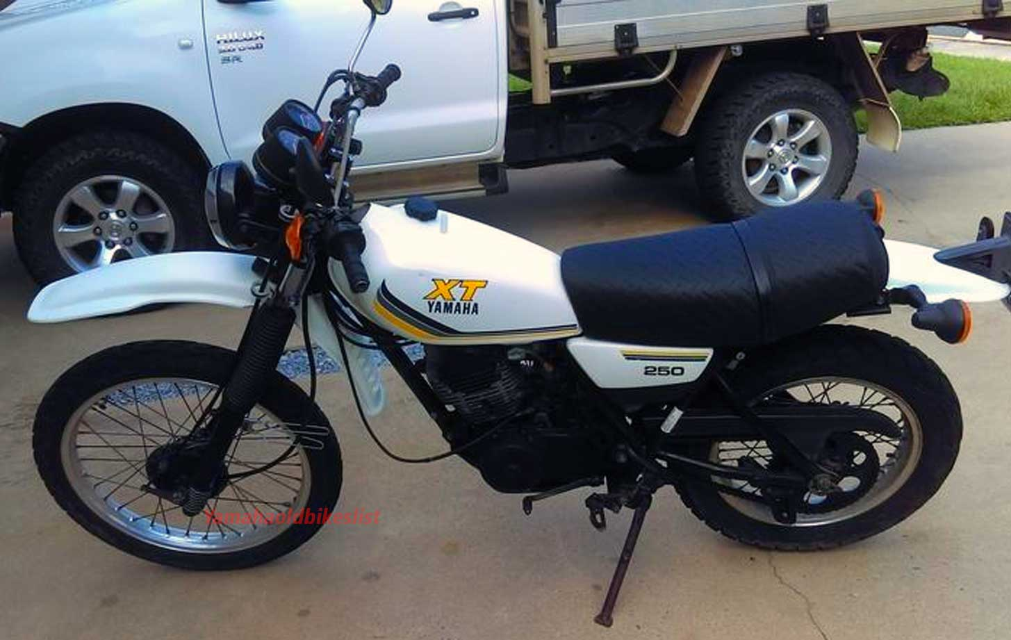 1981 Yamaha Xt250 Specification