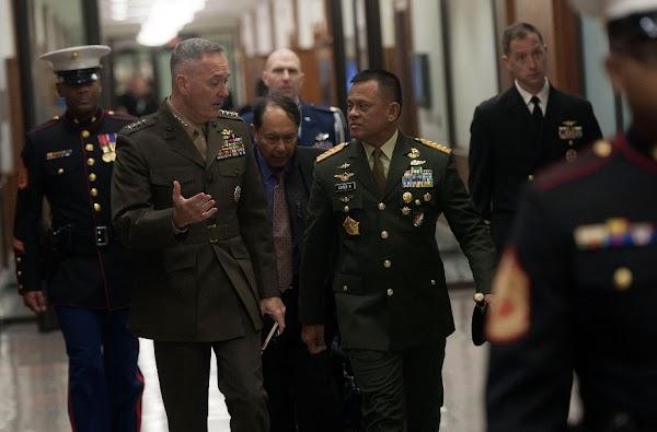 Gatot Nurmantyo Dukung AS Tolak Klaim China di LCS