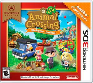 Rom Animal Crossing New Leaf Welcome Amiibo Retail Game 3DS