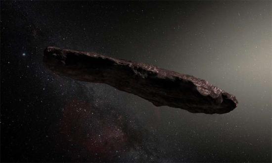 Asteroide 'Oumuamua - Img 1