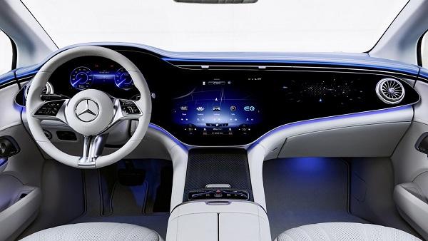 Interior Mercedes Benz EQE