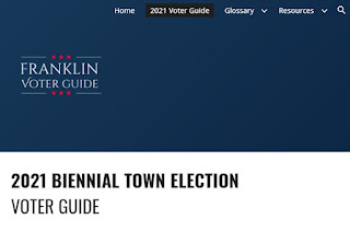 The Franklin Voters Guide is available