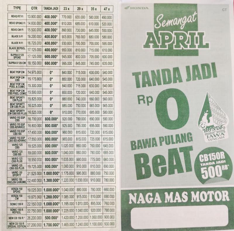 Promo Semangat April