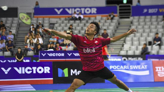 Anthony Sinisuka Menangi Final Sesama Indonesia Atas Jonatan Christie