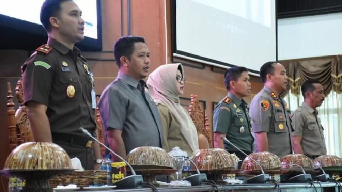 Begini Harapan Wakil Ketua DPRD Sinjai di Rakor Kewaspadaan Dini
