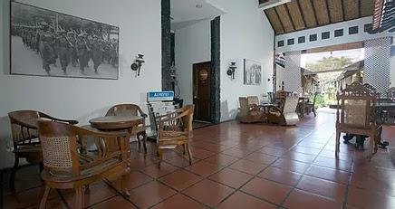 Area Lobi Guest House Rumah Palagan
