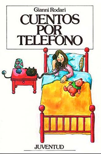CUENTOS POR TELÉFONO de gianni rodari Portada del libro