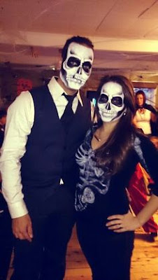 Pregnant Skeleton pregnant Halloween costumes ideas