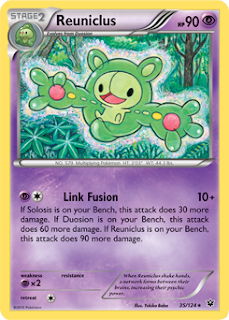 Reuniclus Fates Collide Pokemon Card