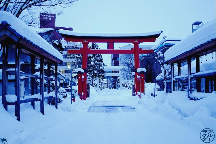 Le Chameau Bleu - Tori de Aomori Voyage dans le Tohoku -Japon