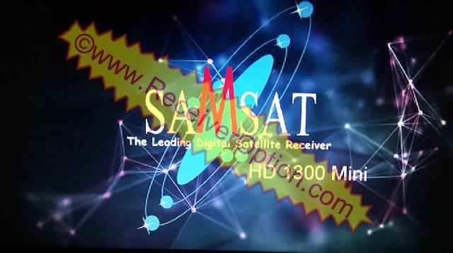 SAMSAT HD 1300 MINI RECEIVER POWERVU KEY NEW SOFTWARE