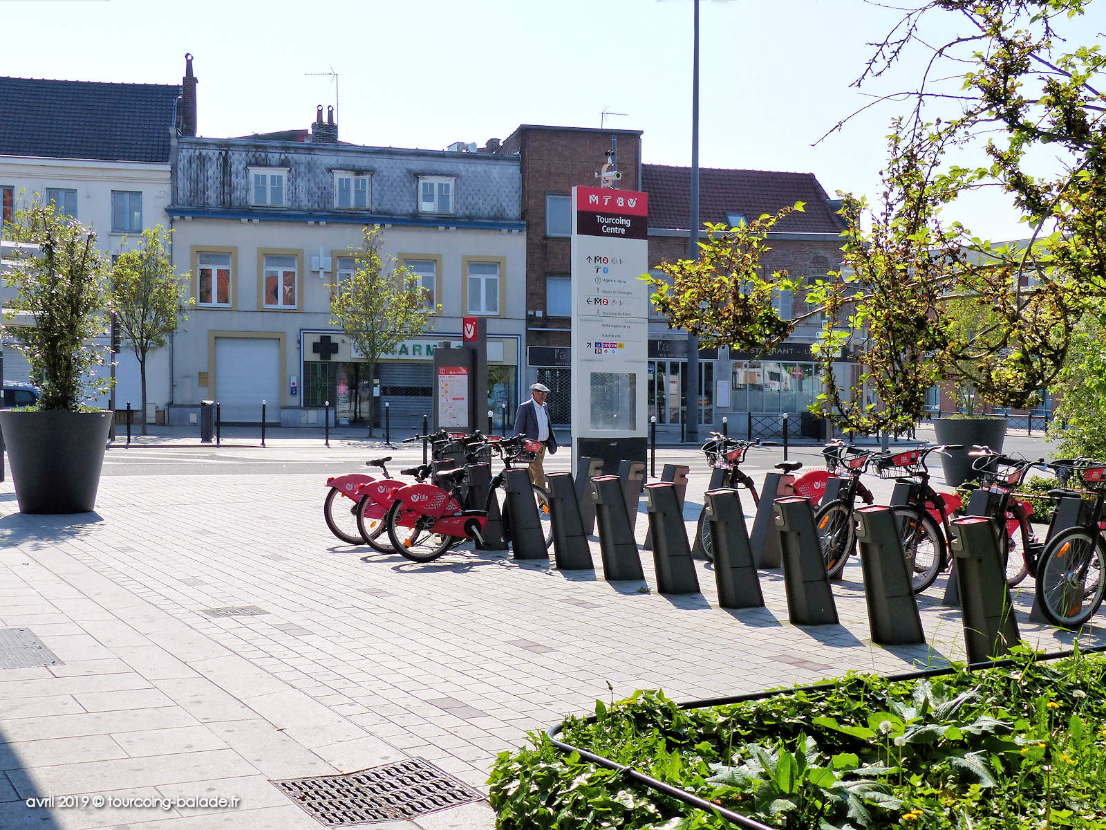 Station V'Lille Roussel Tourcoing - Pharmacie Dewailly - 2019