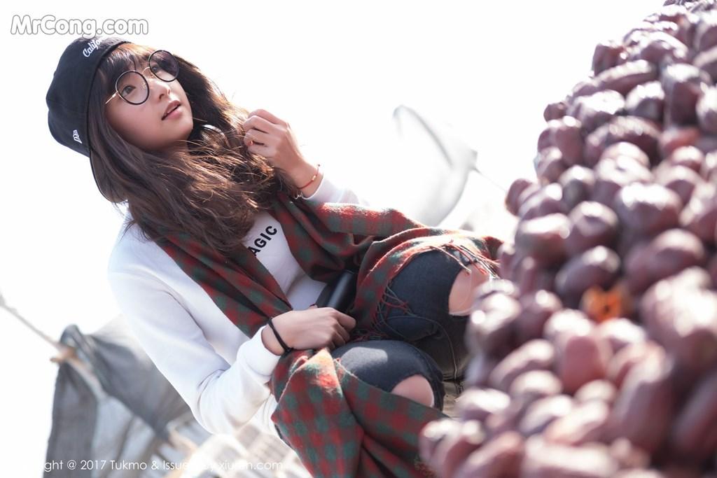 Image Tukmo-Vol.105-Qiu-Qiu-MrCong.com-002 in post Tukmo Vol.105: Người mẫu Qiu Qiu (球球) (41 ảnh)