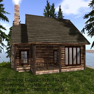 Adam Log Cabin
