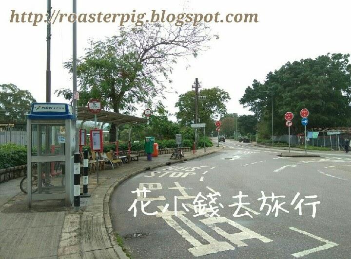坪輋壁畫村巴士站