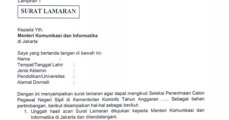39+ Scan Surat Lamaran