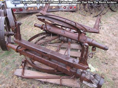 WHEELS THAT WON THE WEST®: International Harvester Axle