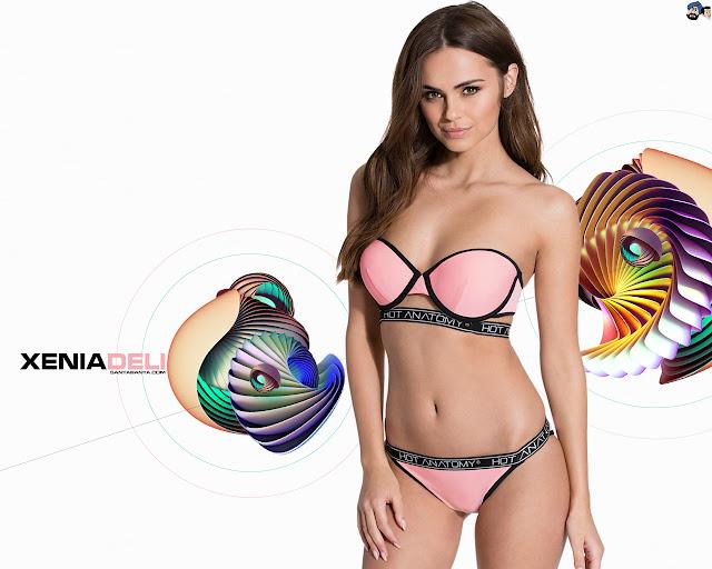 Xenia Deli Bikini Wallpapers
