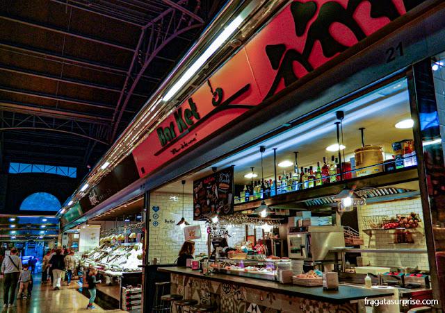 Mercat del Ninot, no Eixample, Barcelona