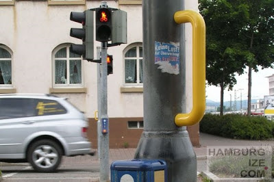 Lörrach - Ampelgriff