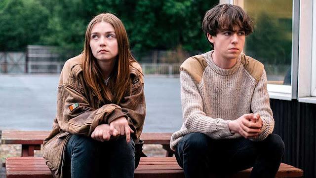 'The End of the F**king World' comedia dramática adolescente muy oscura