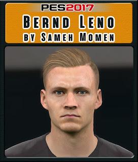 PES 2017 Faces Bernd Leno by Sameh Momen