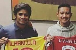 Evan Dimas dan Ilham Udin Resm Gabung Selangor FA
