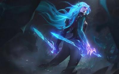 Katarina có tốc độ và sự linh hoạt gây khó chịu cho đối phương