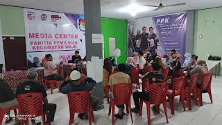Wujudkan Kamtibmas ditahapan Pilkada 2020, Polres Pelabuhan Makassar rutin Kontrol PPK dan Panwanslu