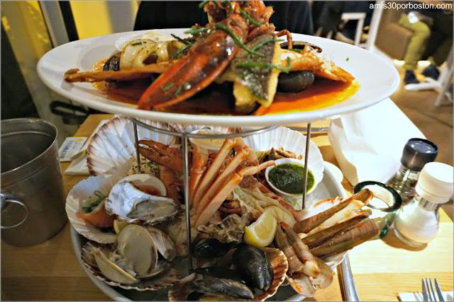 Combinado de Mariscos en The Seafood Bar en Amsterdam