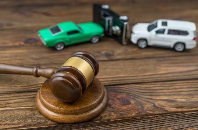 how to determine fault car crash negligence