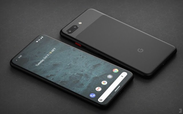Information about the screen and specifications of the Google Pixel 4 leaks