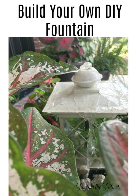 Easy DIY fountain anyone can do using smartpond products exclusively from Lowe's. Simple water fountain anyone can make. Water gardens. Water fountains.