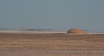 Espejismo en el desierto