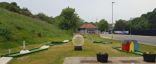 North Bay Crazy Golf in Scarborough