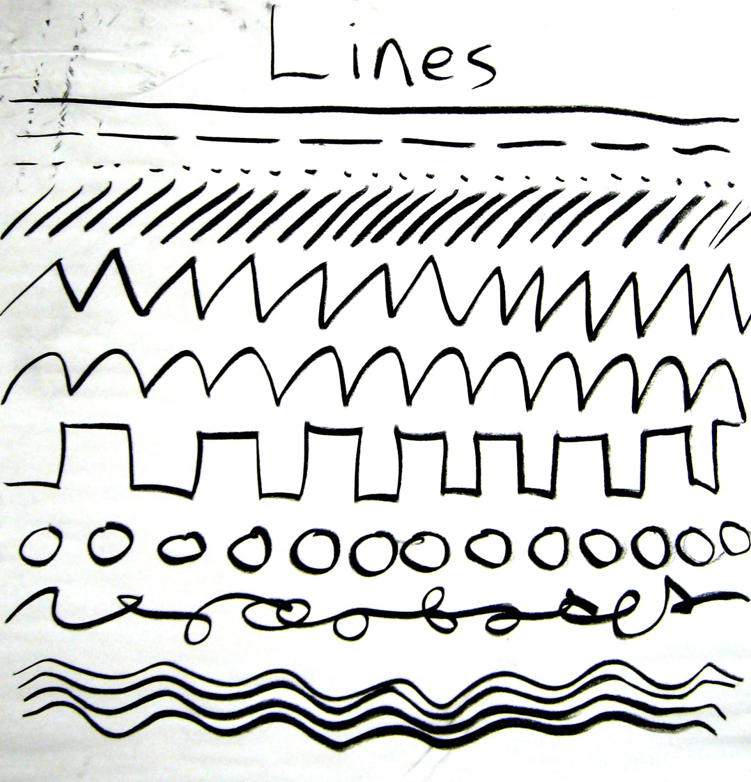 Mr Mueller S Art Class Ties Lines Patterns Repetition