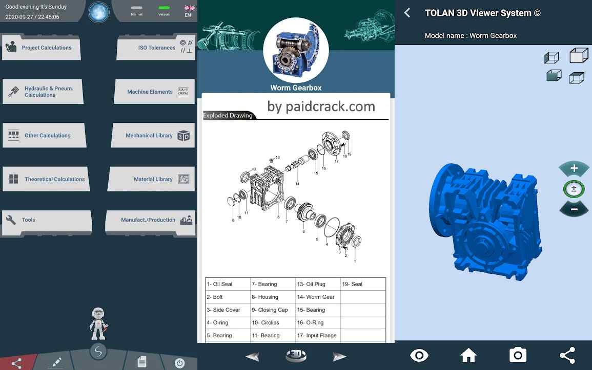 Engineering Tools : Mechanical Pro Mod Apk 219 [Paid]